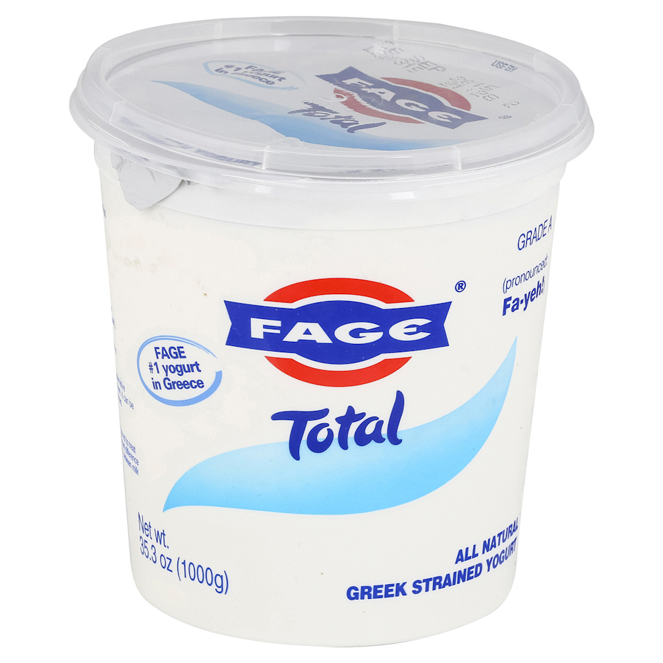 "<p>We must admit, our love for Fage already ran pretty deep. After our (very unbiased) taste test, we're happy to report that the brand is still *the best.* Fage's ultra-creamy, decadent Greek yogurt is the perfect level of tart. It makes for an indulgent breakfast, but with WAY less sugar than, say, <a href=""https://www.delish.com/cooking/recipe-ideas/a20734035/banana-pudding-stuffed-french-toast-recipe/"" rel=""nofollow noopener"" target=""_blank"" data-ylk=""slk:Banana Pudding Stuffed French Toast"" class=""link rapid-noclick-resp"">Banana Pudding Stuffed French Toast</a>.</p><p><a class=""link rapid-noclick-resp"" href=""https://www.target.com/p/fage-total-0-milkfat-plain-greek-yogurt-35-3oz/-/A-14729218"" rel=""nofollow noopener"" target=""_blank"" data-ylk=""slk:BUY NOW""><em>BUY NOW</em></a> <em><strong>Fage Total, $6, target.com</strong></em></p>"