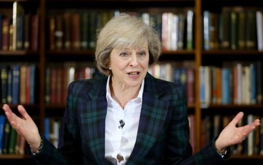Theresa May is a contender to be the next prime minister. Source: AFP.