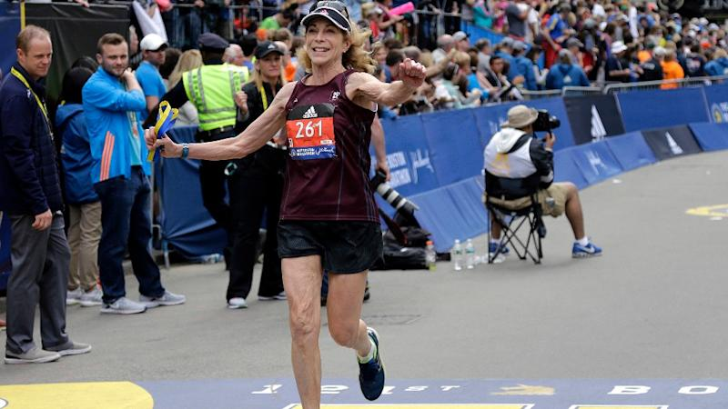 Boston Marathon's 1st Official Woman Contestant Runs After 50 Yrs