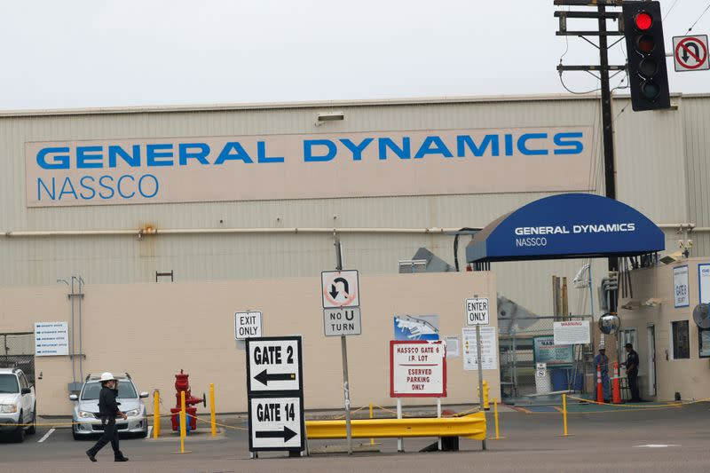 General Dynamics cuts 2020 profit forecast as pandemic weighs on IT, aerospace