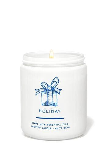 <p><span>Bath &amp; Body Works Holiday Single Wick Candle</span> ($9, originally $15)</p>