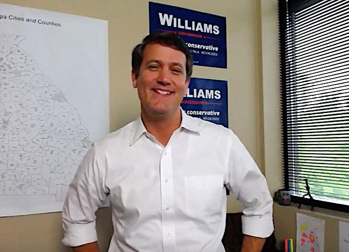 Georgia state Sen. Michael Williams says the giveaway is in response to efforts to ban the modification devices that can turn a semiautomatic firearm into one that shoots nearly as rapidly as an automatic weapon. (Photo: Michael Williams for Governor website)