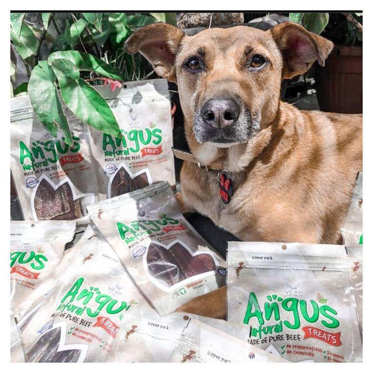 Angus es snacks natural para mascotas