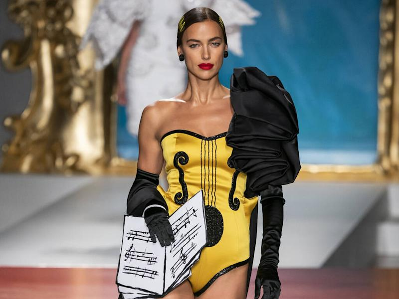 Jeremy Scott channels Picasso for Moschino's spring 2020 collection