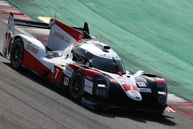 Lopez fastest for Toyota in Barcelona WEC test