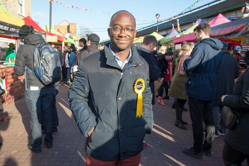 Sam Gyimah was a distant third in Kensington (Jeremy Selwyn)