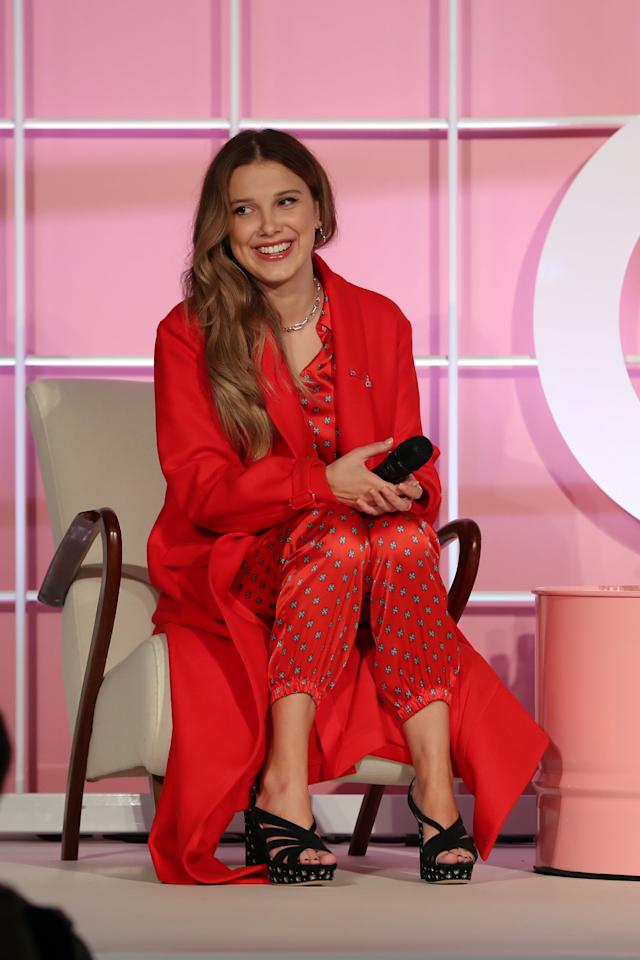 <p>As you've gathered from her accent in TV interviews and speeches, Millie is a Brit. She hails from the UK, though she was born in Spain. She also has three siblings: a brother named Charlie and two sisters named Paige and Ava.</p>