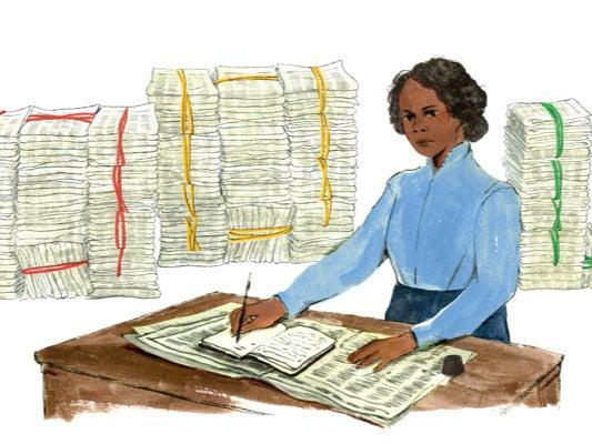 Google released an illustration celebrating Mary Ann Shadd Cary's 197th birthday on 9 October (Google )