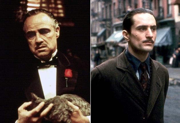 """Playing Vito Corleone, statistically speaking, might just be the best way to win an Oscar. Marlon Brando won best actor playing the iconic jowly don in 1974 (Brando refused the award) and De Niro won best supporting for """"The Godfather, Part II"""" for playing the same character."""