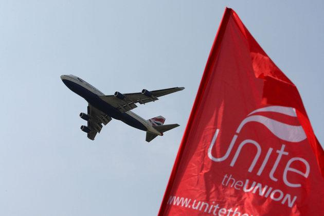 Unite the union has given its strong backing to a third runway