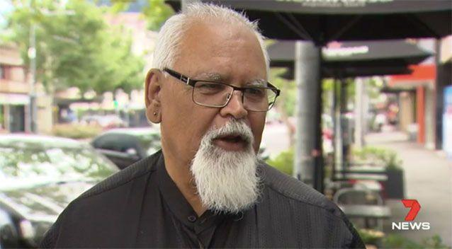 Aboriginal Legal Rights Movement spokesperson Tauto Sansbury. Source: 7 News