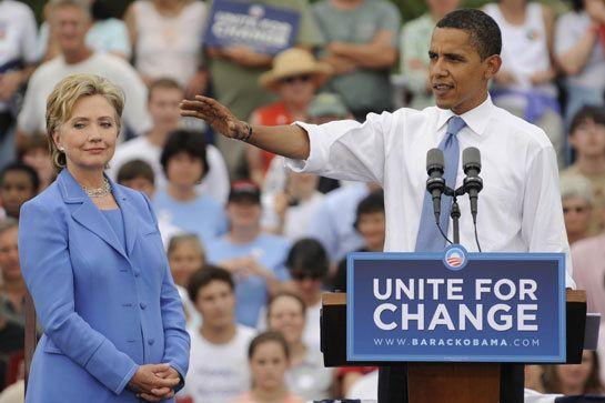 "This slogan sums up exactly what was wrong with Hillary Clinton's campaign. Obama inspired a nation with his call for ""change""; Hillary responded by using a long-winded copycat version of that message, which inspired a grand total of no one."