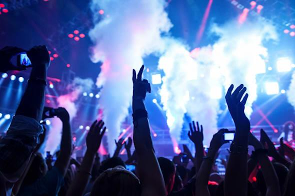 picture of rock concert  music...