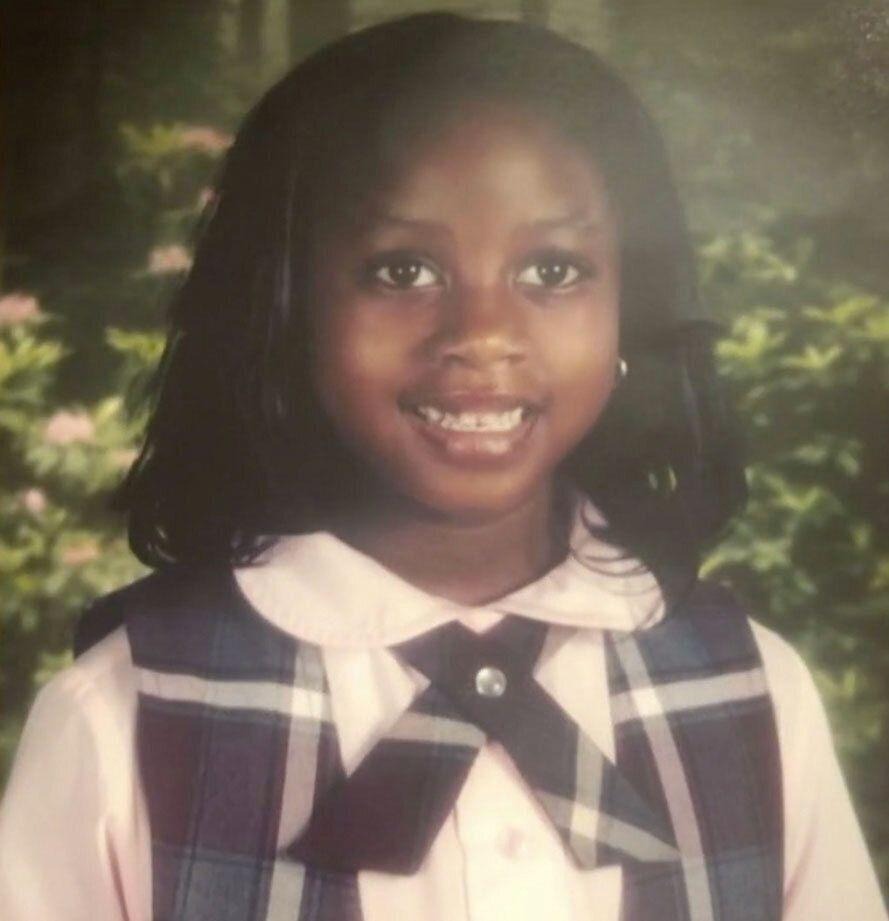 Brianna Watts as a young girl, around the time she and her mom were living in a shelter. (Photo courtesy of Bridgette Gibbs)