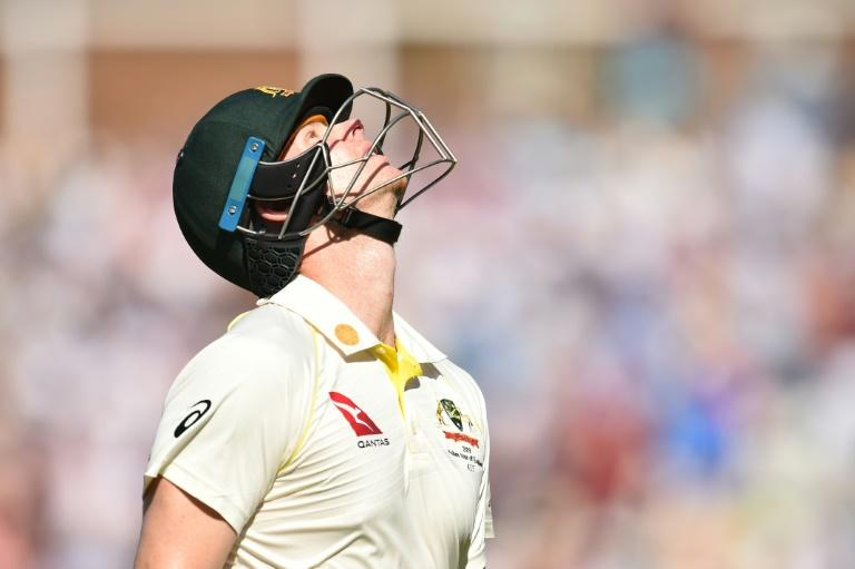 Steve Smith was dismissed for 23 in Australia's second innings in the fifth Ashes Test at the Oval