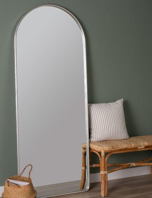 <p>This <span>Lulu and Georgia Shashenka Floor Mirror</span> ($549) is a great accent piece.</p>