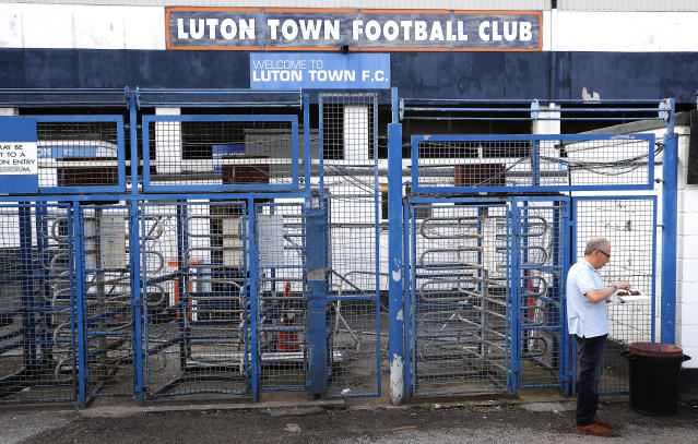 A general view of the stadium prior to the Sky Bet Championship match at Kenilworth Road, Luton. (Photo by Darren Staples/PA Images via Getty Images)