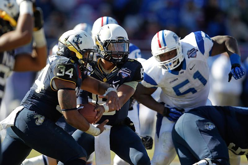 Bell Helicopter Armed Forces Bowl - Middle Tennessee v Navy