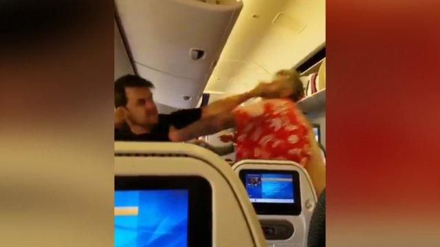 'Drunk' American passenger arrested after assaulting staff and passengers on flight