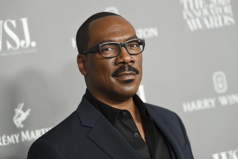 Eddie Murphy attends the WSJ. Magazine 2019 Innovator Awards on Wednesday, Nov. 6, 2019. (Photo by Evan Agostini/Invision/AP)