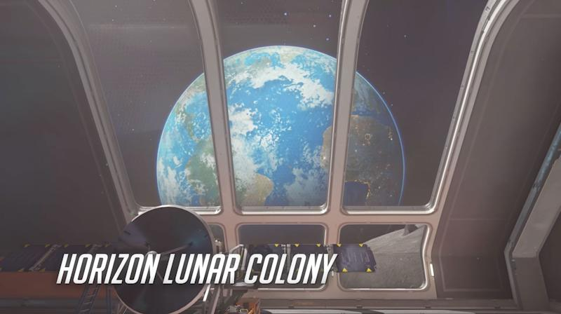 Horizon Lunar Colony is an Assault map set on the Moon. (Blizzard)
