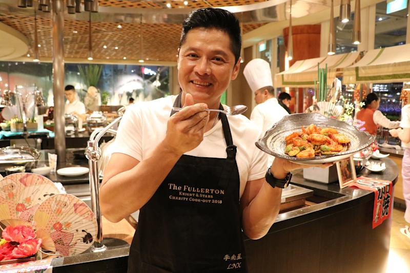 Li Nanxing will be whipping up dishes for fans. (PHOTO: The Fullerton Singapore)