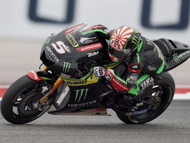 Zarco eventually went on to finish fifth (EPA)