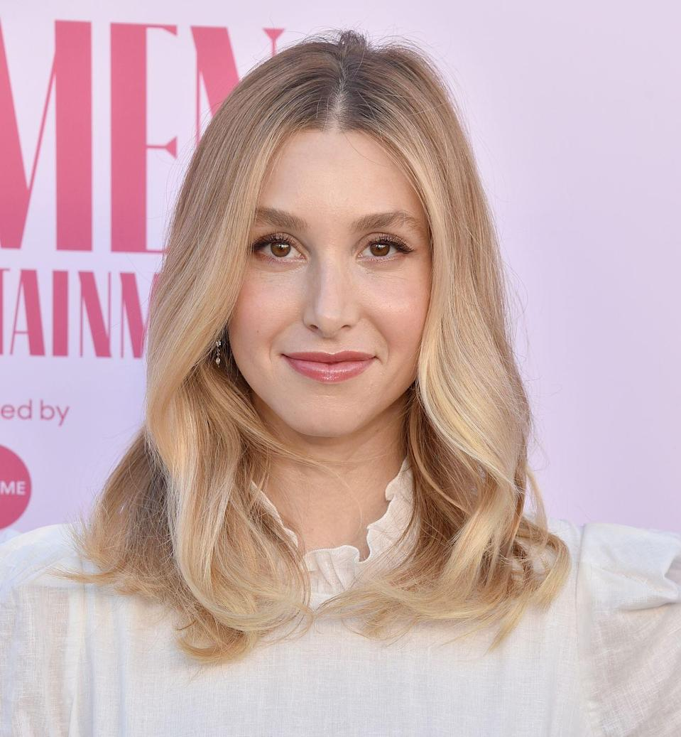 <p>You don't have to immediately go darker just because the summer months are over. Take a note from <strong>Whitney Port </strong>and ask your stylist for ribbons of blonde, so you can remember those blissfully long days.</p>