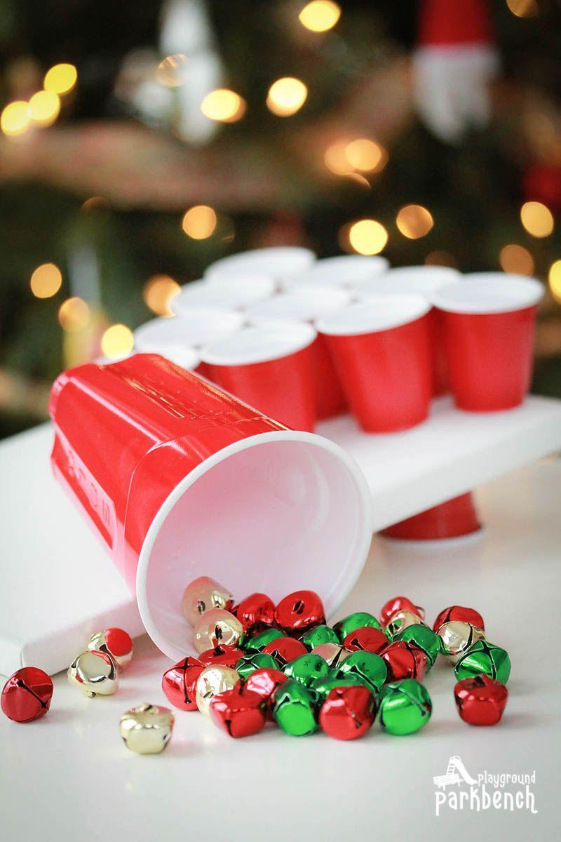 """<p>What could be more entertaining than a beer pong-cornhole hybrid? Hot-glue cups to a board and toss bells into them to score.</p><p><strong>Get the tutorial at <a href=""""https://playgroundparkbench.com/ways-to-play-jingle-bell-toss/"""" rel=""""nofollow noopener"""" target=""""_blank"""" data-ylk=""""slk:Playground Park Bench"""" class=""""link rapid-noclick-resp"""">Playground Park Bench</a>.</strong></p><p><a class=""""link rapid-noclick-resp"""" href=""""https://www.amazon.com/Package-Miniature-Assorted-Holiday-Colored/dp/B00HG5KW0U/?tag=syn-yahoo-20&ascsubtag=%5Bartid%7C10050.g.22718533%5Bsrc%7Cyahoo-us"""" rel=""""nofollow noopener"""" target=""""_blank"""" data-ylk=""""slk:SHOP JINGLE BELLS"""">SHOP JINGLE BELLS</a></p>"""