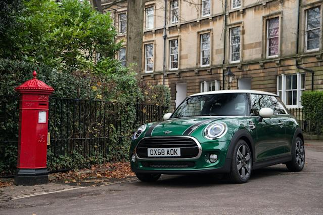 Mini shows off the 2019 60 Years Edition Cooper.