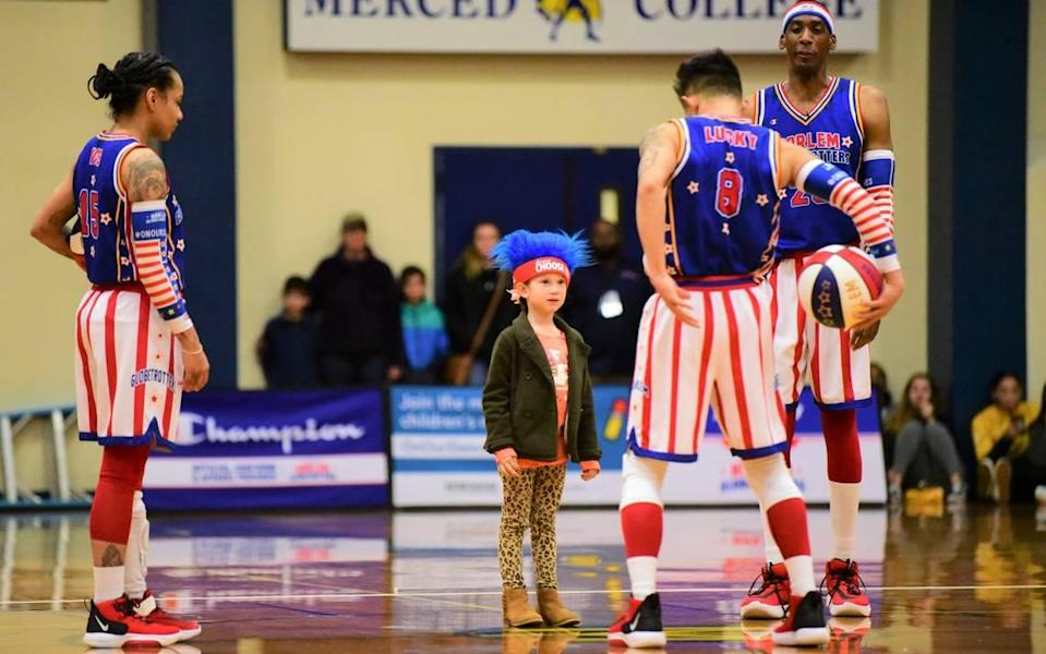 The Harlem Globetrotters will entertain fans twice in the Kansas City area, Aug. 7 at the T-Mobile Center and Aug. 8 at Cable-Dahmer Arena.