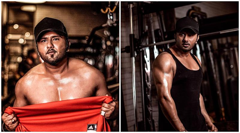 Yo Yo Honey Singh's Latest Body Transformation Pictures Will Leave You Stunned