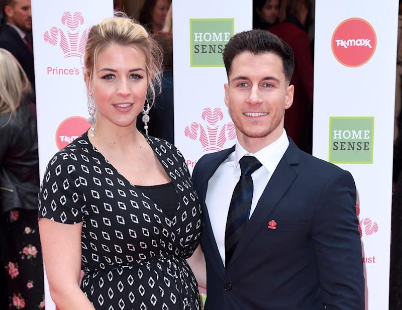 Gemma Atkinson and Gorka Masquez (Karwai Tang/Getty)