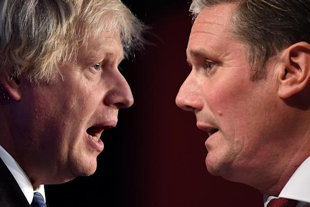 Keir Starmer is now seen as more competent than Boris Johnson (Picture: Getty)