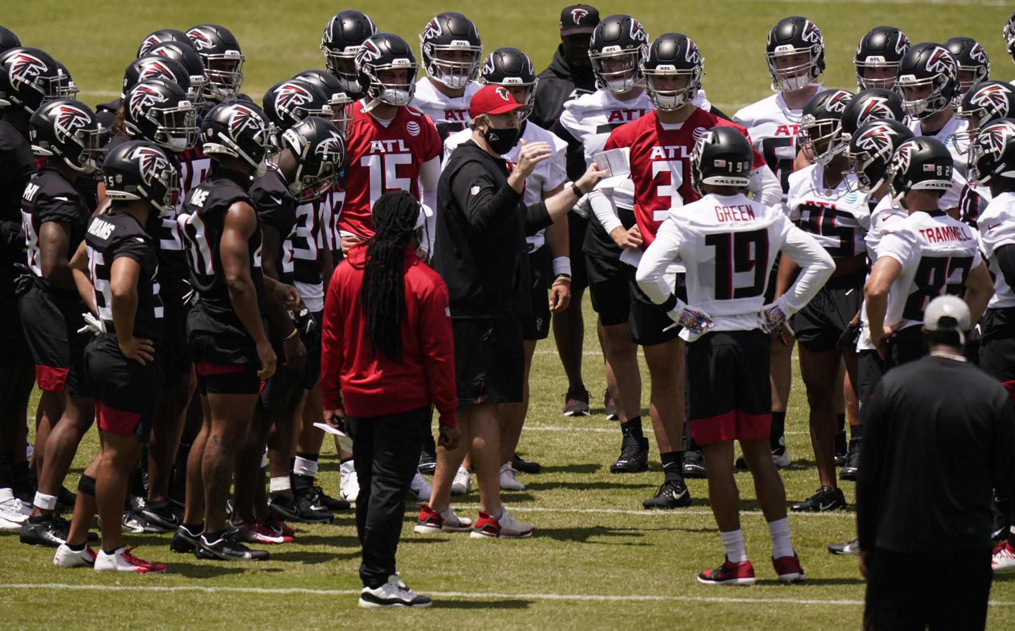 Falcons rookie minicamp: Highlights from the first two days