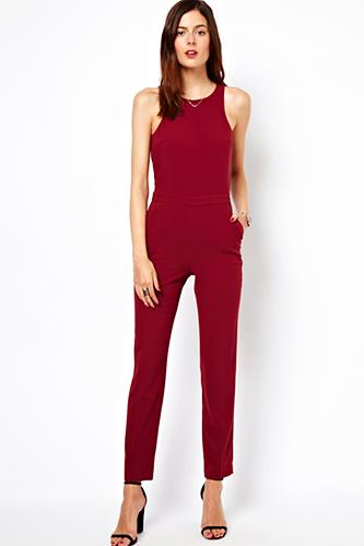"""<div class=""""caption-credit""""> Photo by: ASOS</div><div class=""""caption-title""""></div><b>ASOS</b> Jumpsuit With Chic Racer Detail, $53.16, available at <a rel=""""nofollow"""" href=""""http://www.refinery29.com/rompers"""">ASOS</a>."""