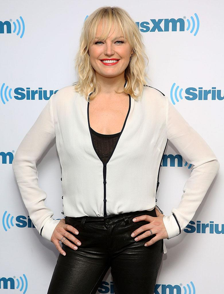 Malin Akerman was looking pretty well rested during a recent visit to SiriusXM Studio in New York City. (Photo: Robin Marchant/Getty Images)