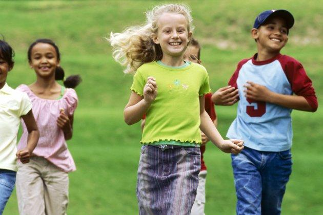 kids with healthy habits