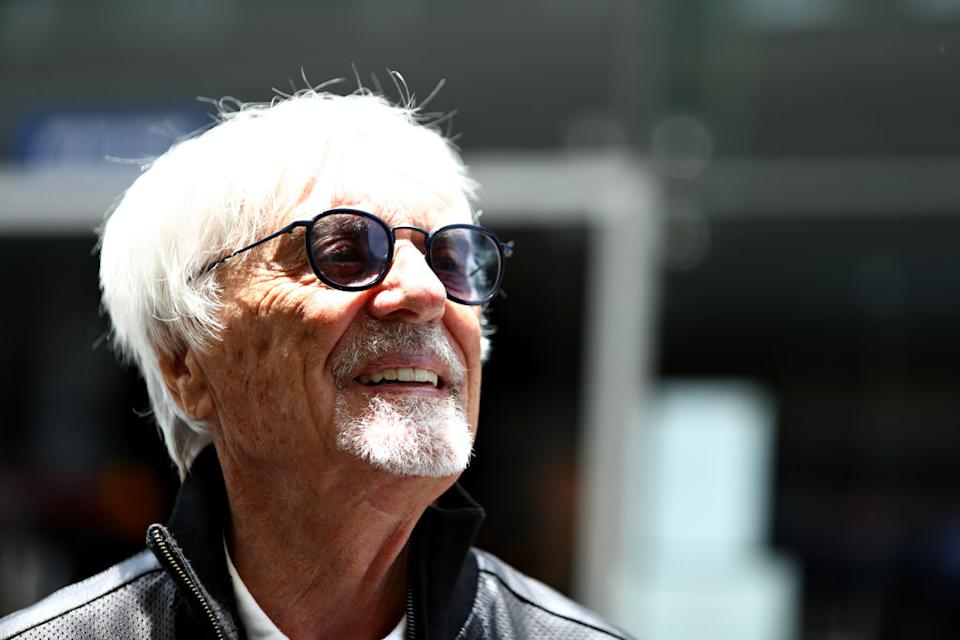 Bernie Ecclestone has become a father again at the age of 89. (Getty Images)
