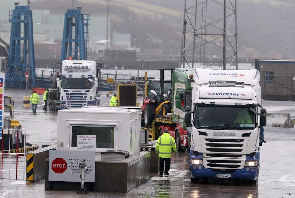Brexit border delays are real - but customers won't be patient with them forever.  (PA Wire)