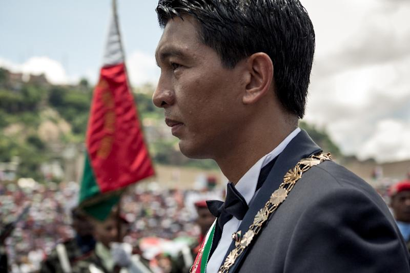 Madagascar's President Andry Rajoelina has pledged to fight corruption in the Indian Ocean island nation
