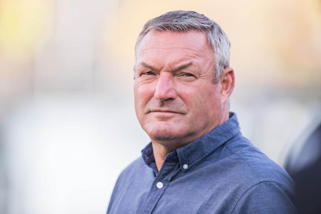 FC Cincinnati coach Ron Jans has stepped down after being accused of using a racial slur. (Trevor Ruszkowski-USA TODAY Sports)