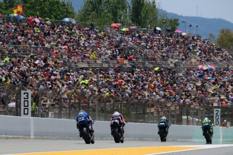 The fans returned in force at the Catalonia MotoGP