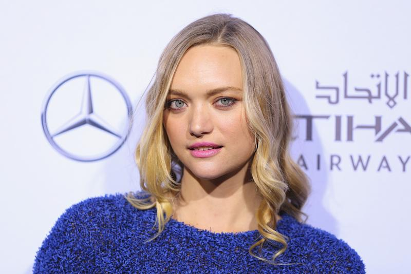 A photo Gemma Ward at the 2017 Australian Fashion Laureate Awards on November 9, 2017 in Sydney, Australia.