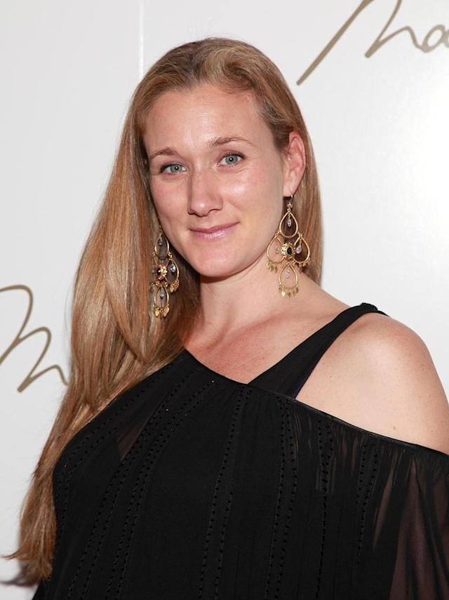 Volleyball player Kerri Walsh attends the Max Azria Fall 2010 fashion show during Mercedes-Benz Fashion Week at Bryant Park on February 16, 2010 in New York City.