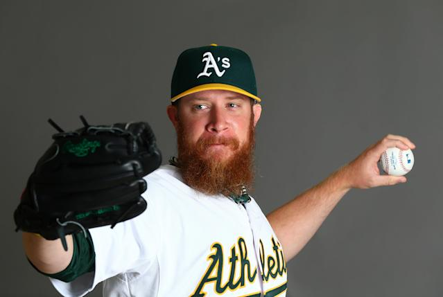 Athletics pitcher Sean Doolittle unveiled an April Fools' prank 15 months in the making