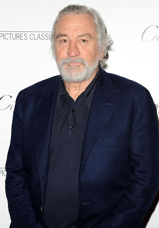 """<p>Robert De Niro does not hold back when it comes to his thoughts on Trump and his Trump administration. In fact, he actually <a href=""""http://ew.com/tv/2017/02/03/robert-de-niro-donald-trump-punch-view/"""" rel=""""nofollow noopener"""" target=""""_blank"""" data-ylk=""""slk:wants to punch Donald in the face"""" class=""""link rapid-noclick-resp"""">wants to punch Donald in the face</a>. After Trump's victory, De Niro even said he feels """"like I did after 9/11."""" De Niro <a href=""""http://ew.com/news/2017/05/30/donald-trump-robert-de-niro-insults/"""" rel=""""nofollow noopener"""" target=""""_blank"""" data-ylk=""""slk:has been going in"""" class=""""link rapid-noclick-resp"""">has been going in</a> on Trump hard since 2011 back, but so far, Trump hasn't engaged. (Photo by Jason LaVeris/FilmMagic) </p>"""