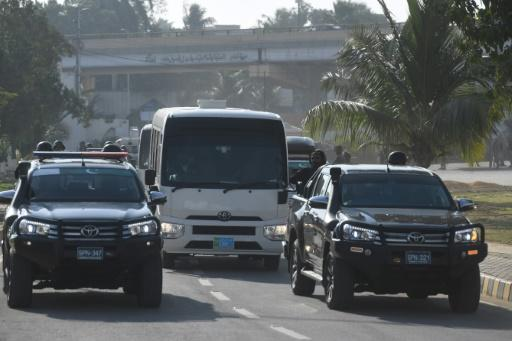 The Sri Lankans had a heavily armed escort at all times during their two-match Test series