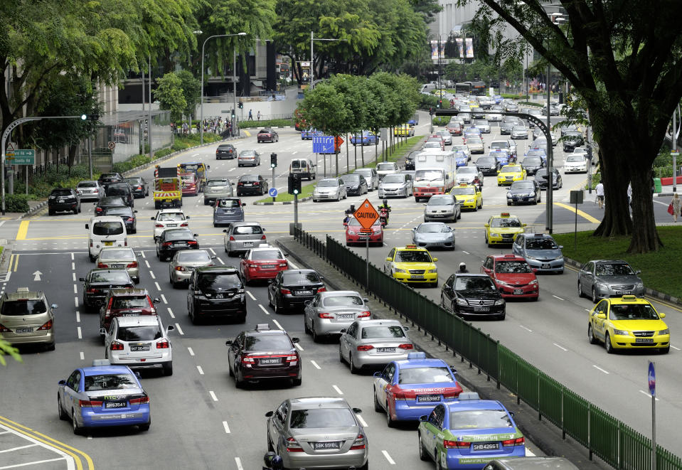 Singapore says it is basically running out of room for more vehicles (Unkel/ullstein bild via Getty Images)