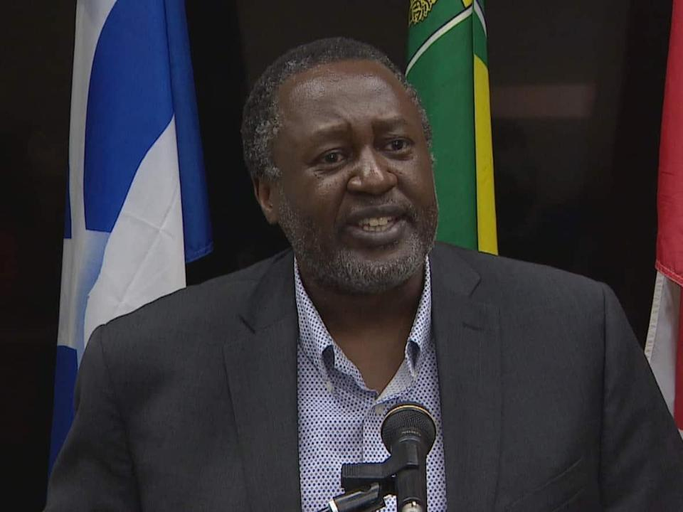 Dr. Johnmark Opondo is a medical health officer for the Saskatchewan Health Authority. (Don Somers/CBC - image credit)